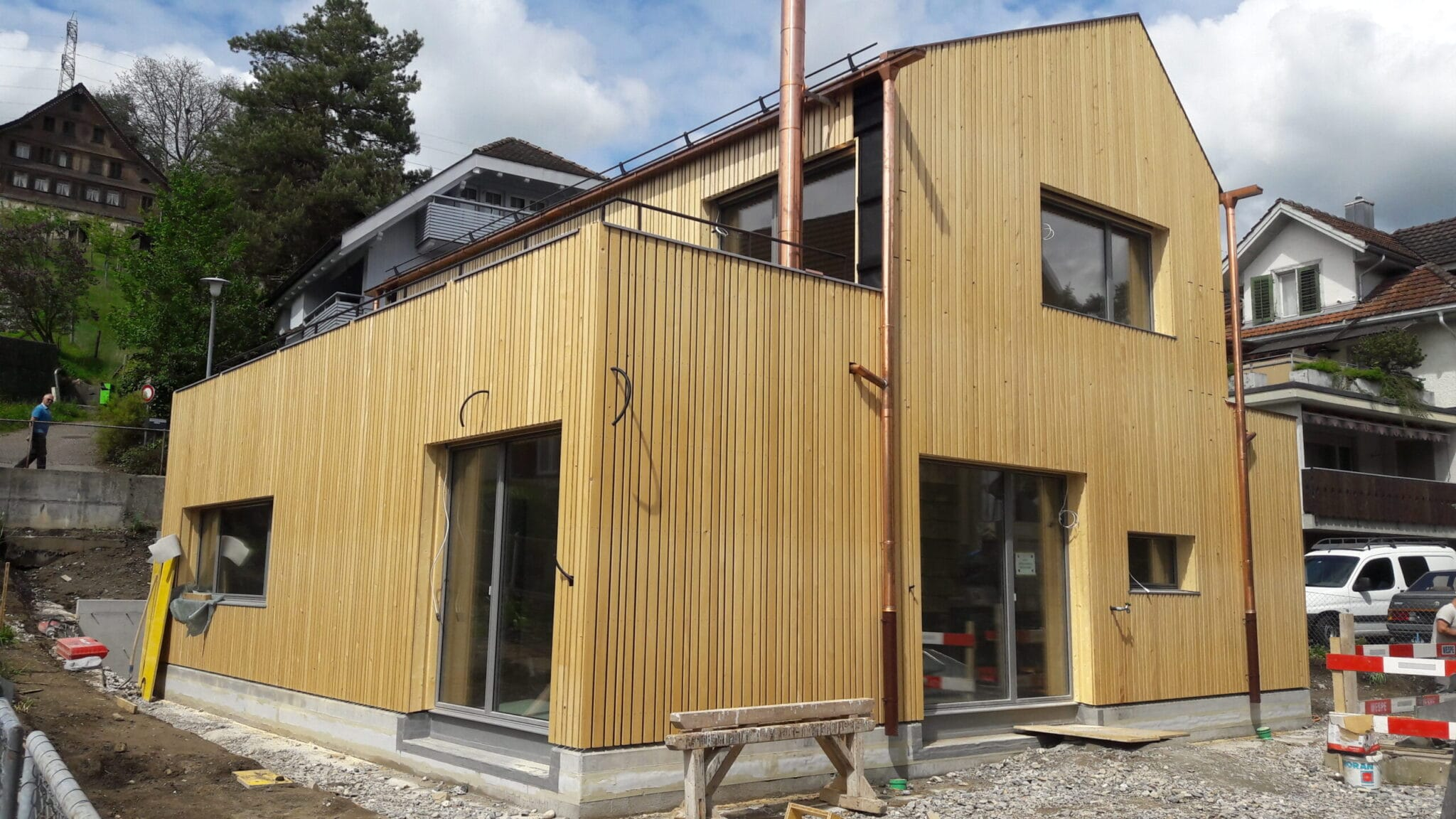 Neubau EFH in Schmerikon - Baujahr 2021
