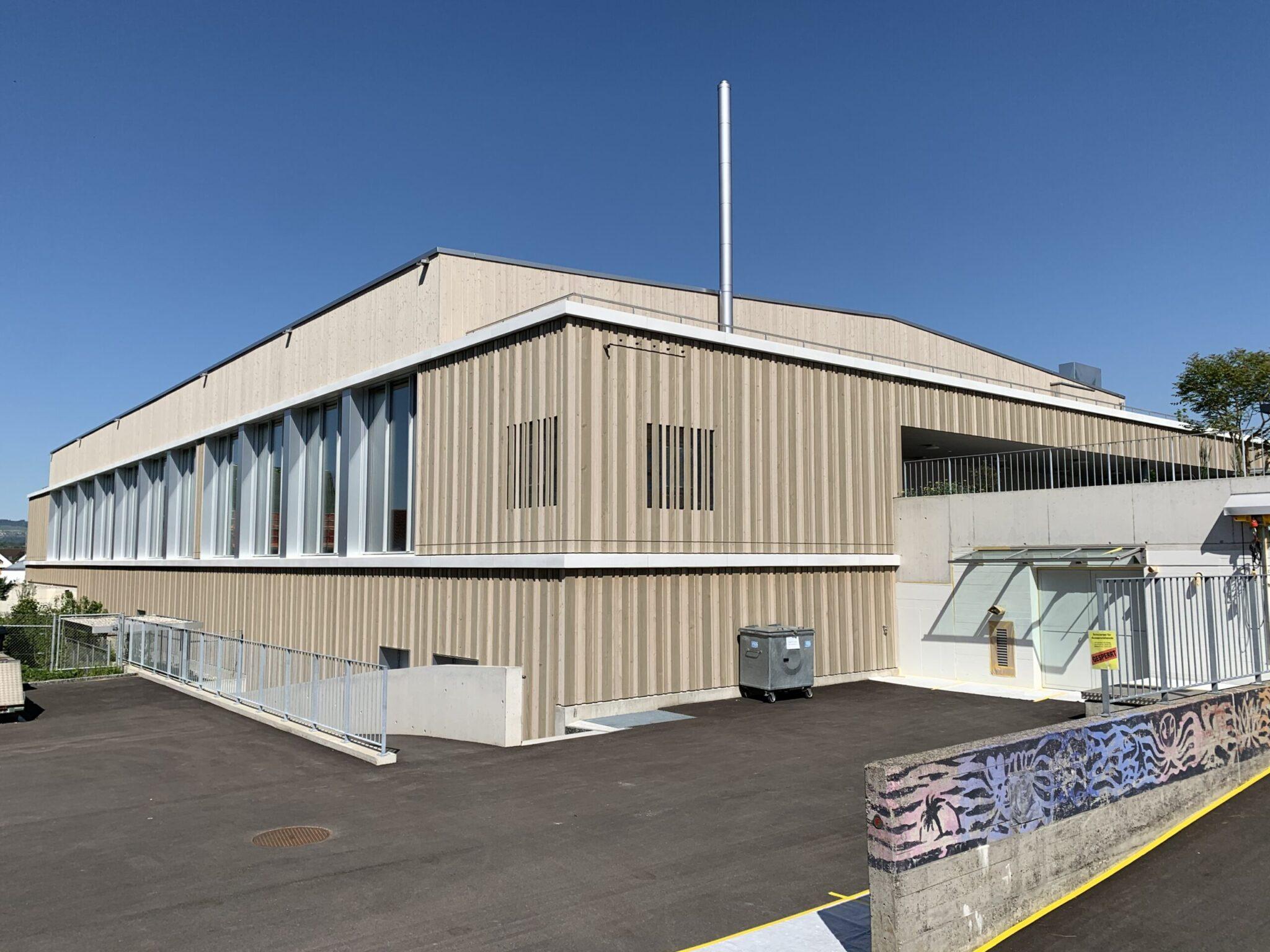 Neubau Mehrzweckhalle in Grüningen