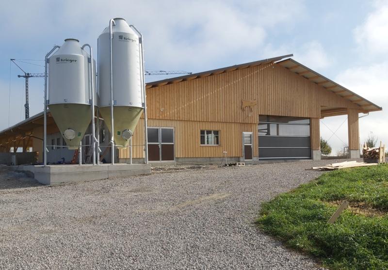Neubau Boxenlaufstall in Stadel bei Niederglatt ZH