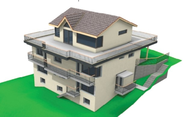 Holzelementbau, Treppen, Fenster