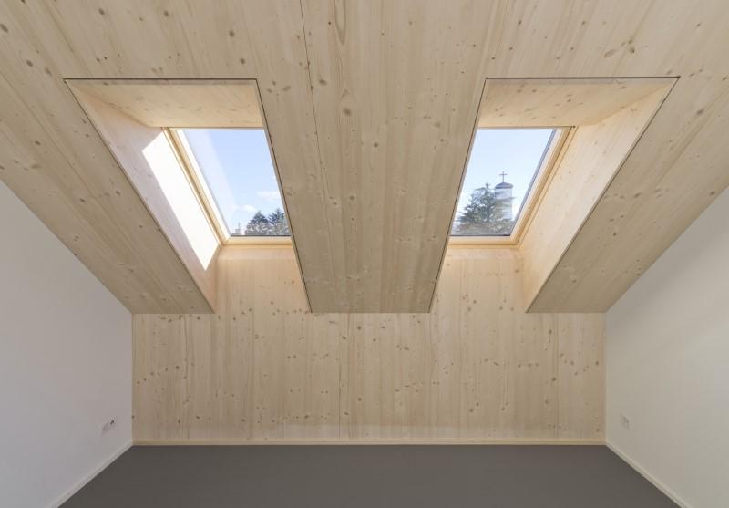 Aufstockung MFH in Zürich Holzelementbau
