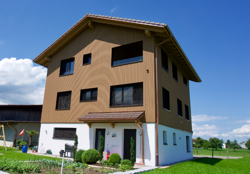 Ersatzbau Betriebsleiterwohnhaus in Wangen