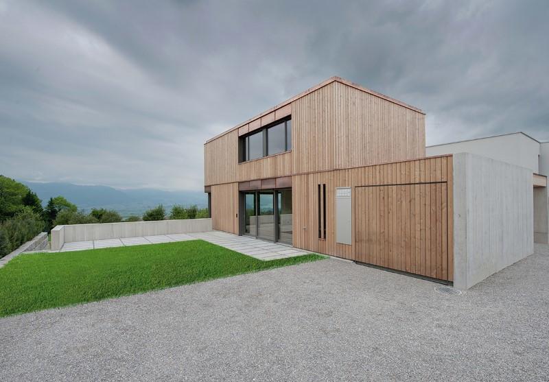 Holzelementbau, Holzfassade und Schreinerarbeiten