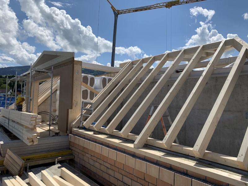 konventionelle Dachkonstruktion