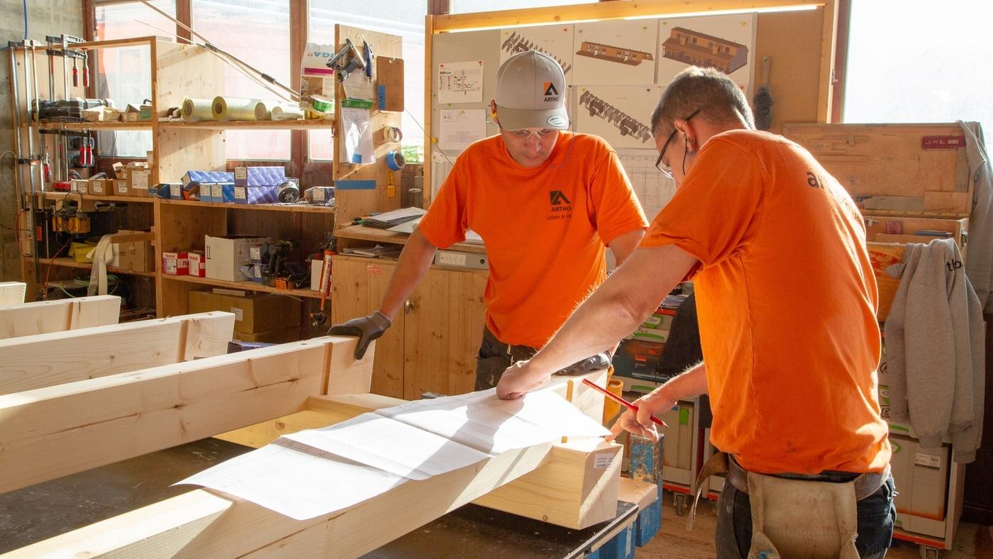 Schreinerei Holzbau Schweiz
