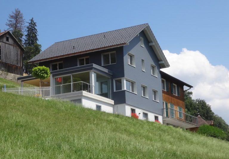 Teilersatzbau Bauernhaus in Goldingen