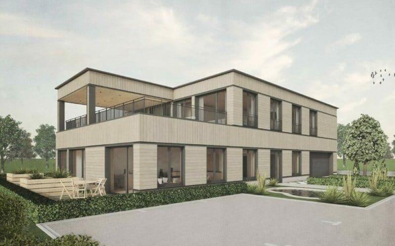 Neubau Wohn- und Gewerbebau in Nuolen - Baujahr 2021