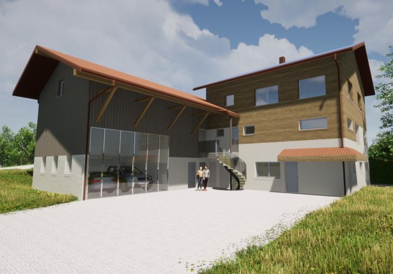 Ersatzbau Wohnhaus in Jona - Baujahr 2022