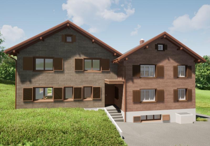 Neubau Betriebsleiterwohnhaus in Elm - Baujahr 2022