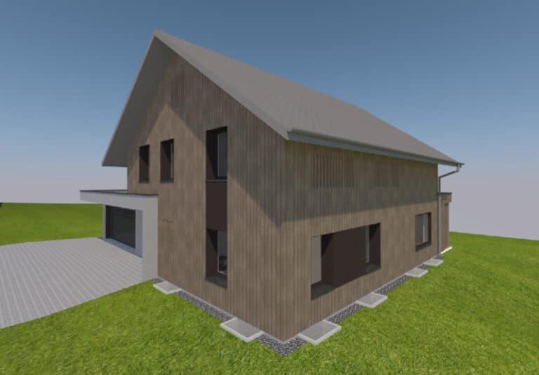 Ersatzbau Betriebsleiterhaus in St. Gallenkappel - Baujahr 2022