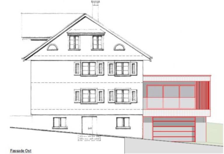 Erweiterung Wohnhaus in Walde - Baujahr 2021