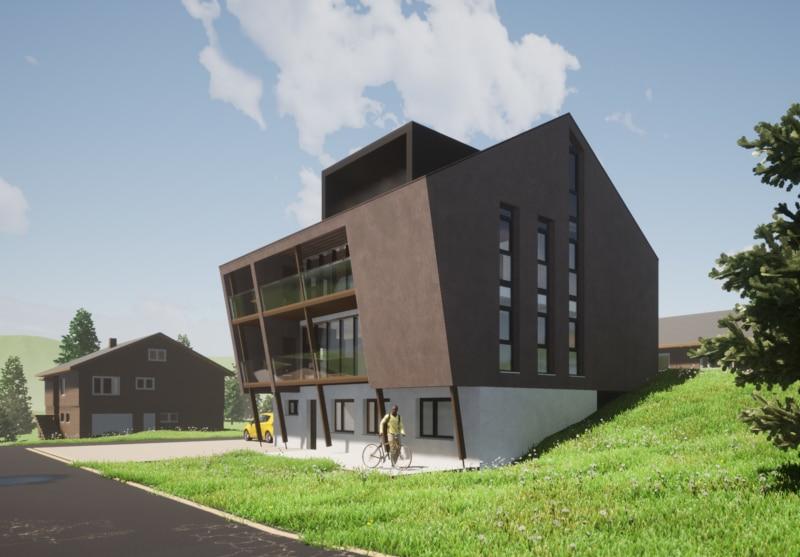 Ersatzbau Einfamilienhaus in St. Gallenkappel - Baujahr 2022